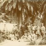 Български пленници на работа в ботаническата градина в Атина