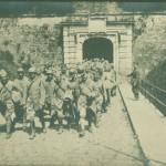 Група български пленници на пристигане в Пирея – ноември 1919 г.