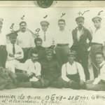 """Български пленници в английския лагер """"Сиди Битер"""" в Александрия, Египет"""